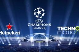 Champions League Techno Motion