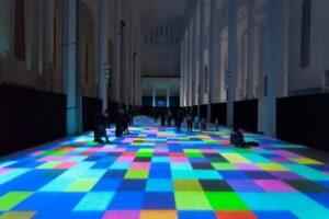 piso interativo