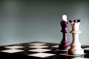 tabuleiro de xadrex sendo usado para demonstrar o conceito de gamificação