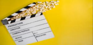 claquete sobre filmes de tecnologia