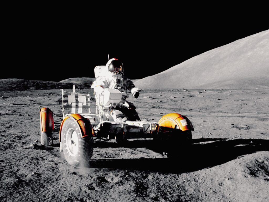 rover na lua